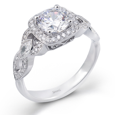 Marquis Accented Ring