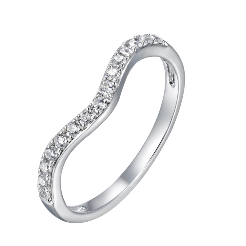 Form Fit Diamond Band
