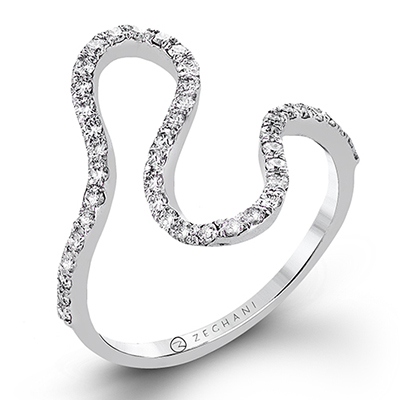 Curves Diamond Ring