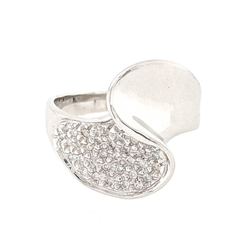 Diamond Freeform Ring