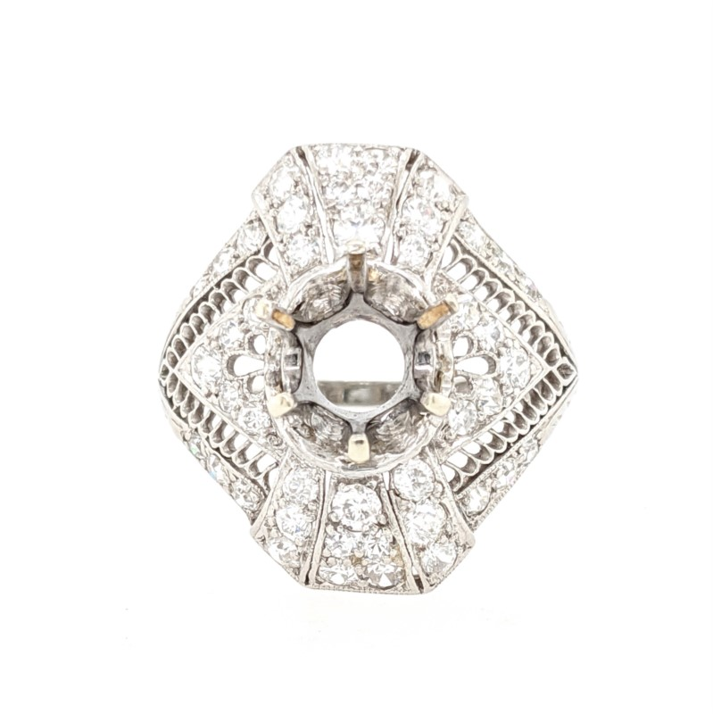 Vintage Diamond Ring Mounting