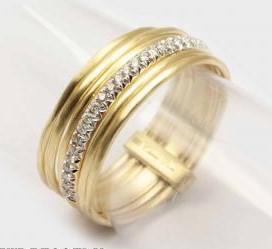 Multi-Band Diamond Ring