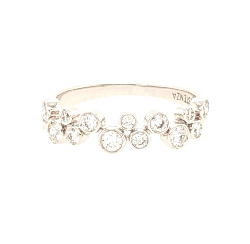 Scattered Bezel Diamond Ring