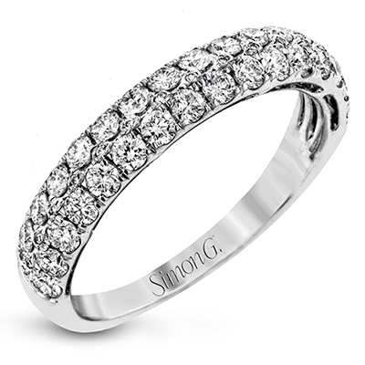 Multi Row Diamond Band