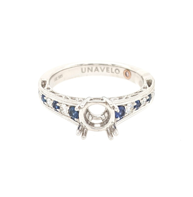 Sapphire and Diamond Mounting