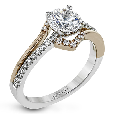 Chevron Engagement Ring