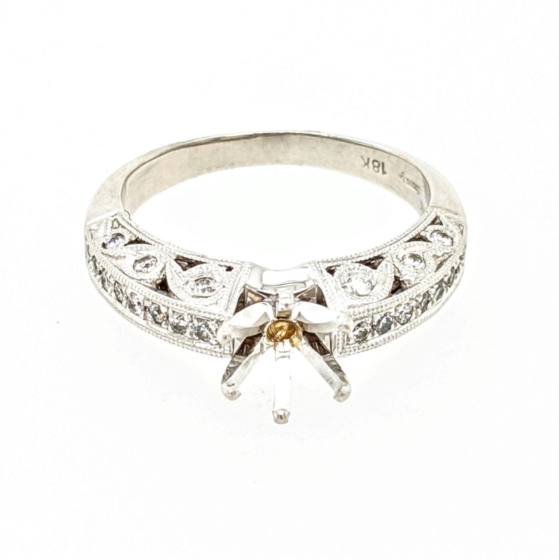 Cathedral Semi Mount Ring