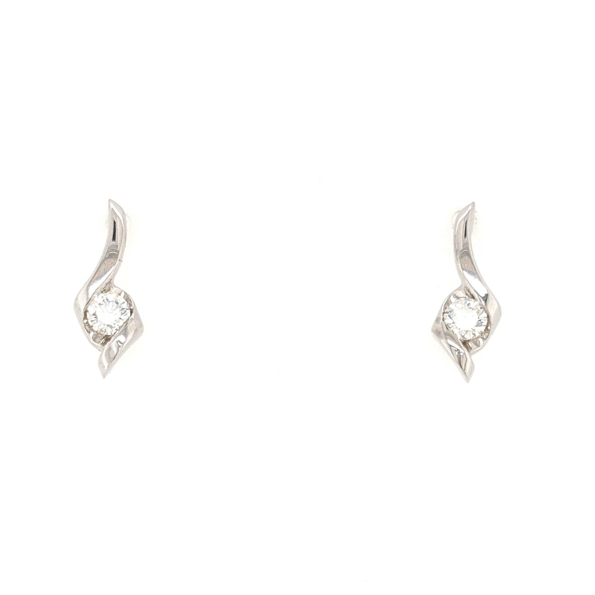 Petite Diamond Earrings