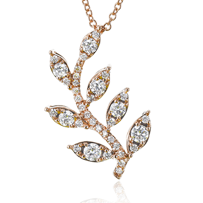 Diamond Vine Necklace