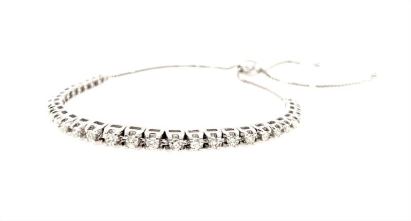 Diamond Sliding Toggle Bracelet