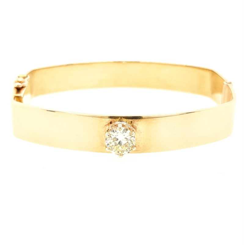 Diamond Square Bangle