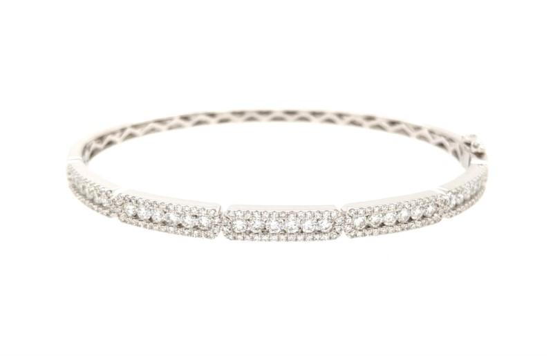 Segmented Diamond Bracelet