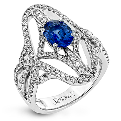 Dramatic Sapphire Ring