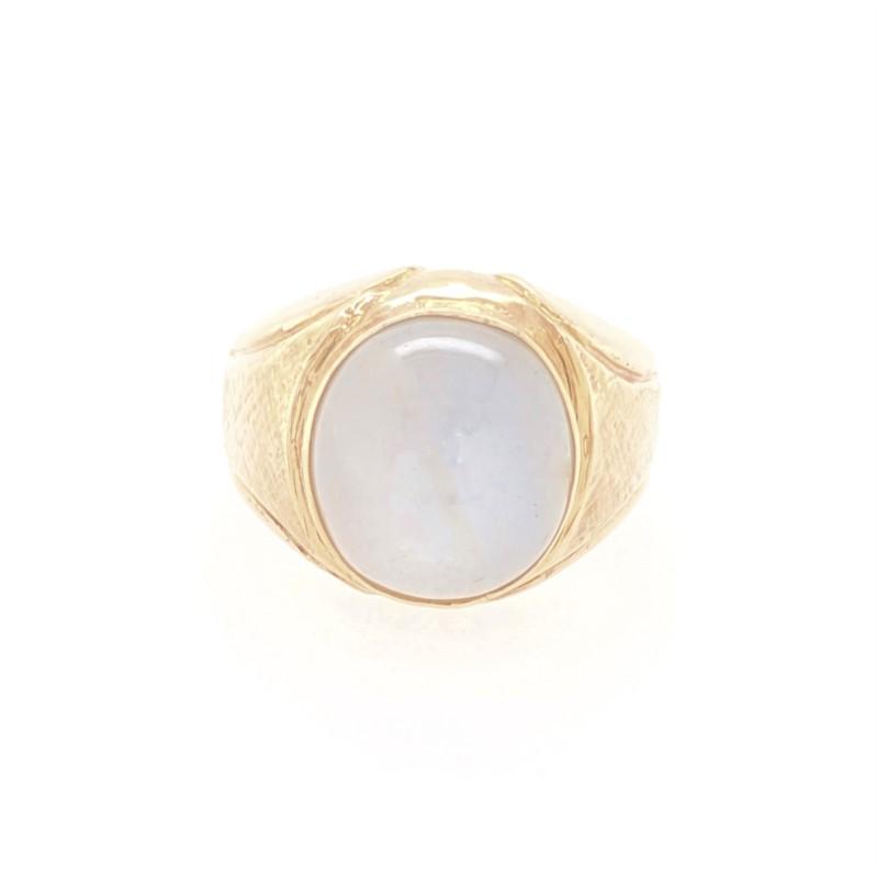 Grey Star Sapphire Ring