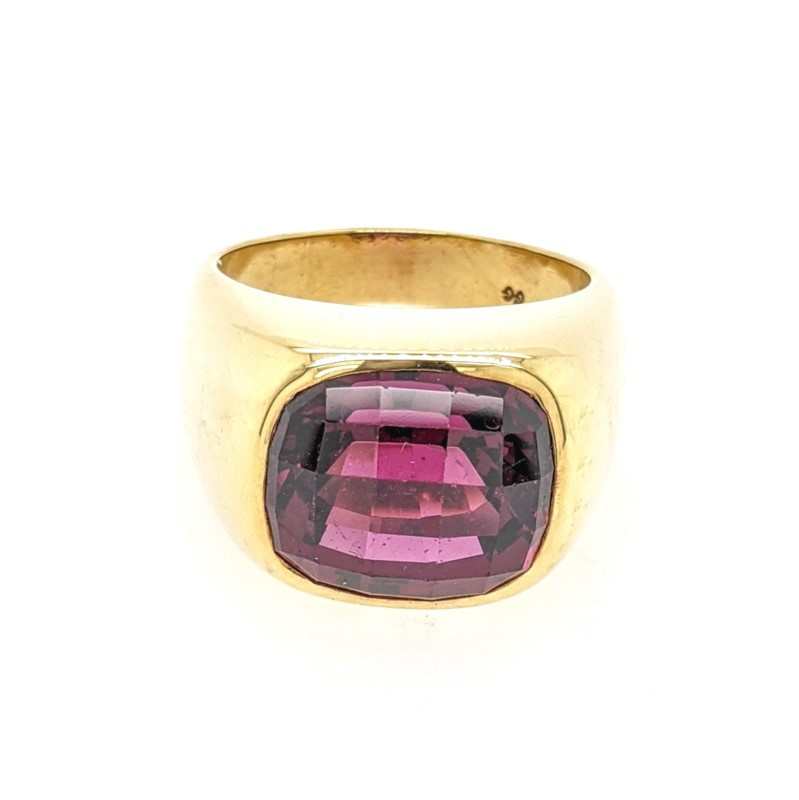 Grape Garnet Men's Ring