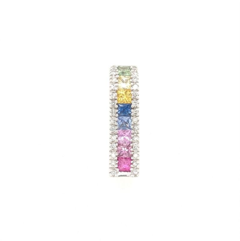 Multi Sapphire Pendant
