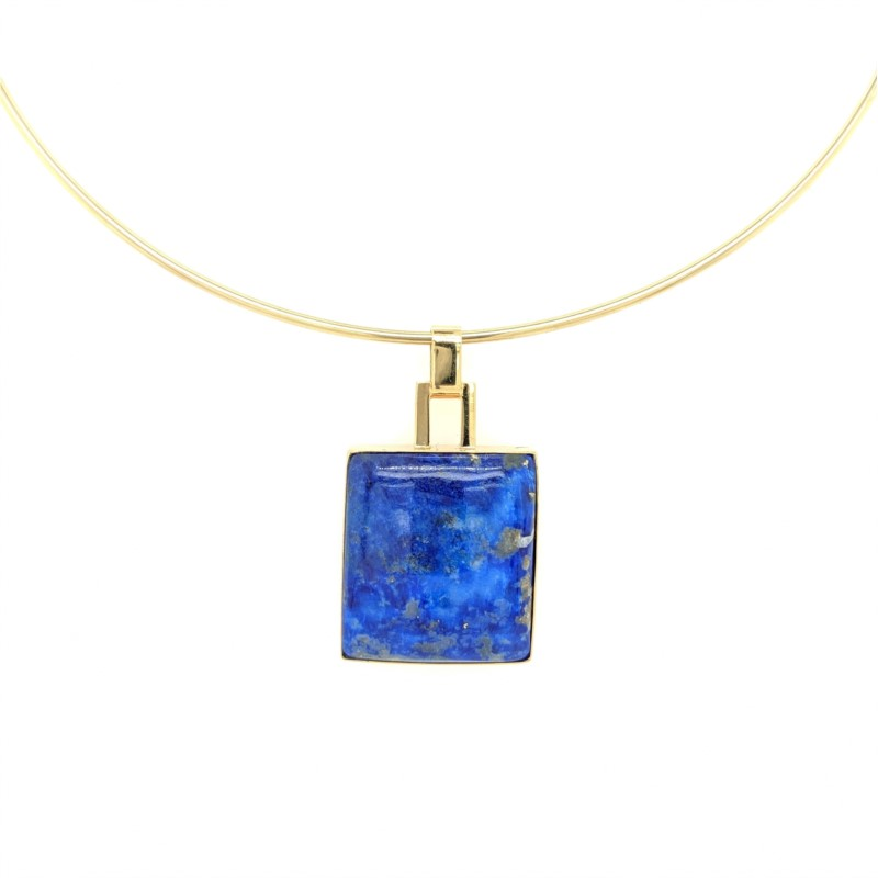 Lapis Collar Necklace