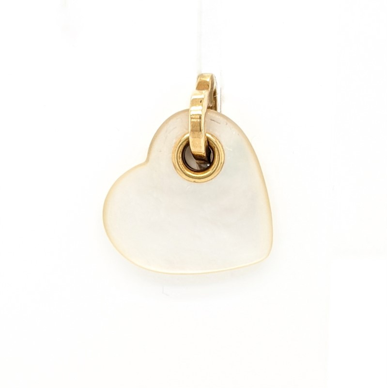 Tiffany Pearl Heart Pendant