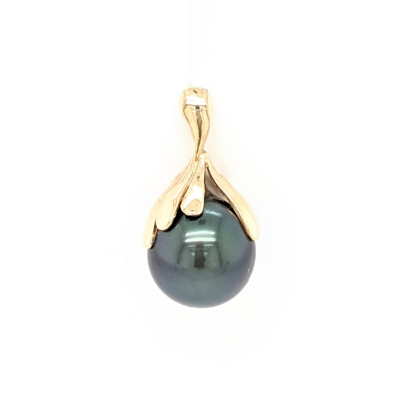Pearl Petal Pendant