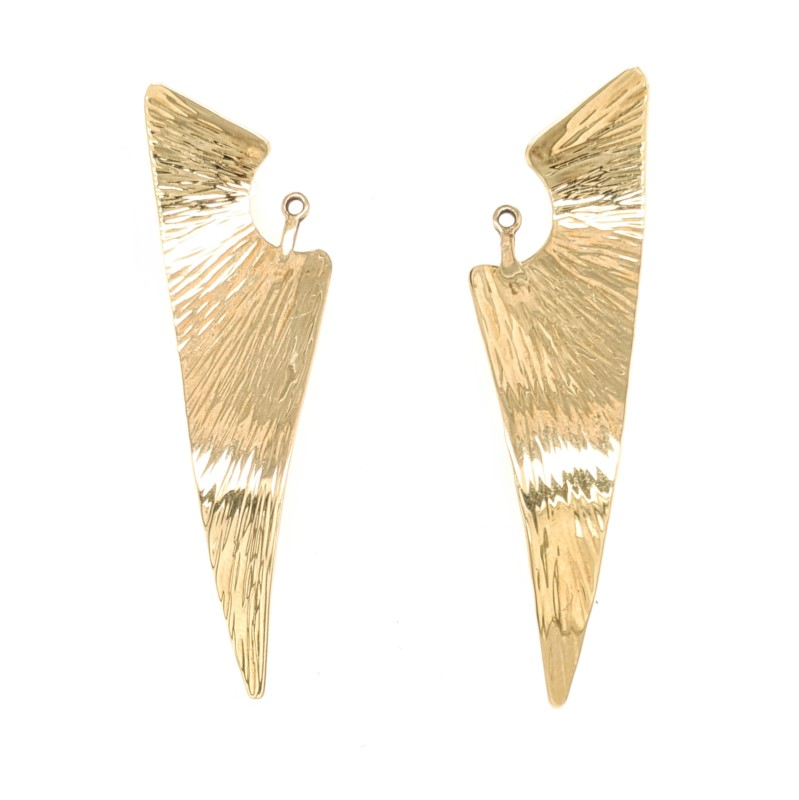 Textured Earring Jackets
