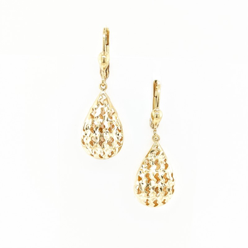 Drop Shaped Earrings