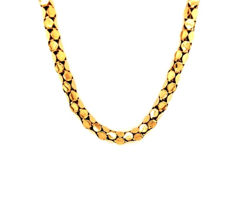 Gold Popcorn Chain