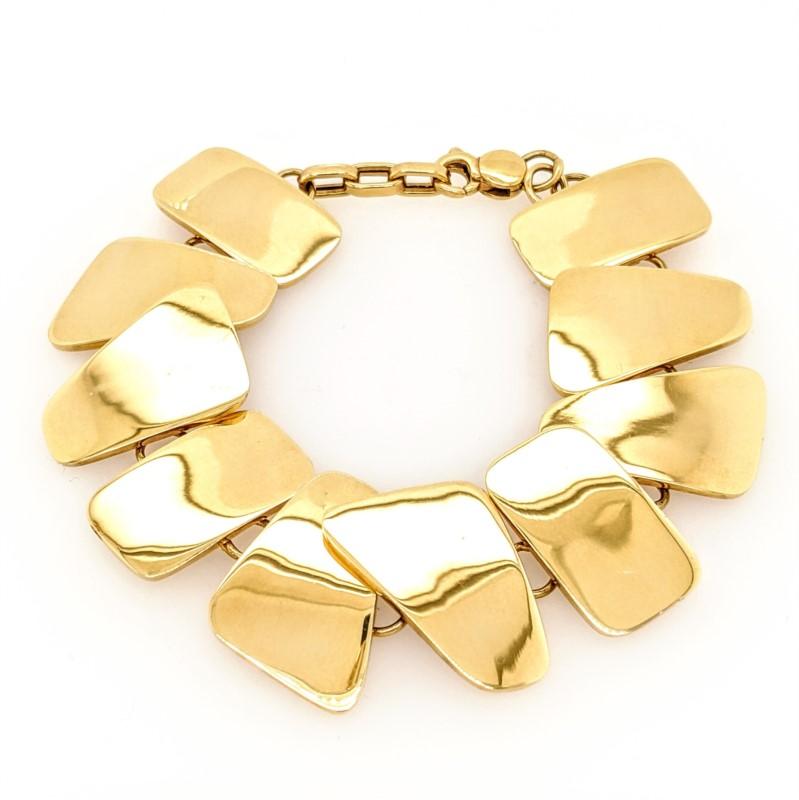 Freeform Link Bracelet