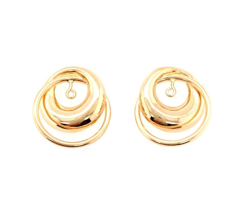 Gold Earring Jackets