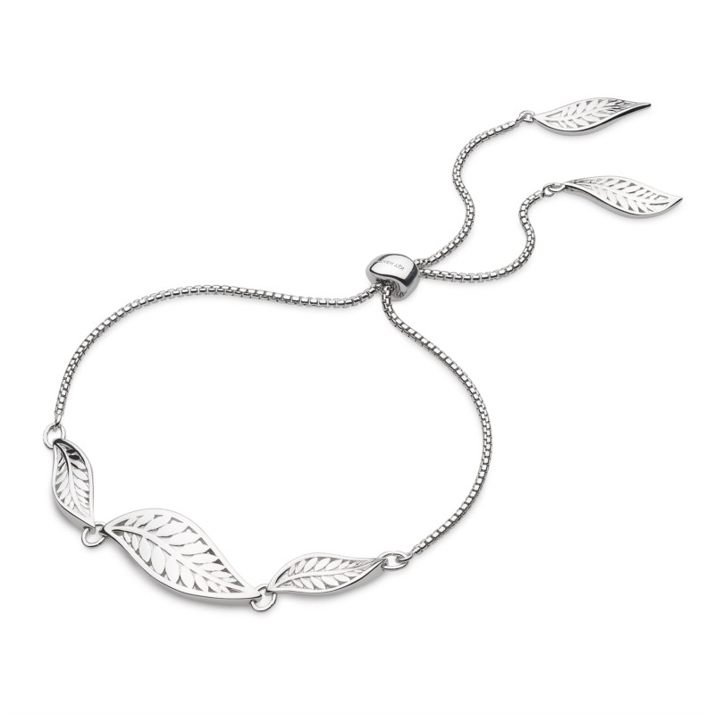 Trio Leaf Toggle Bracelet