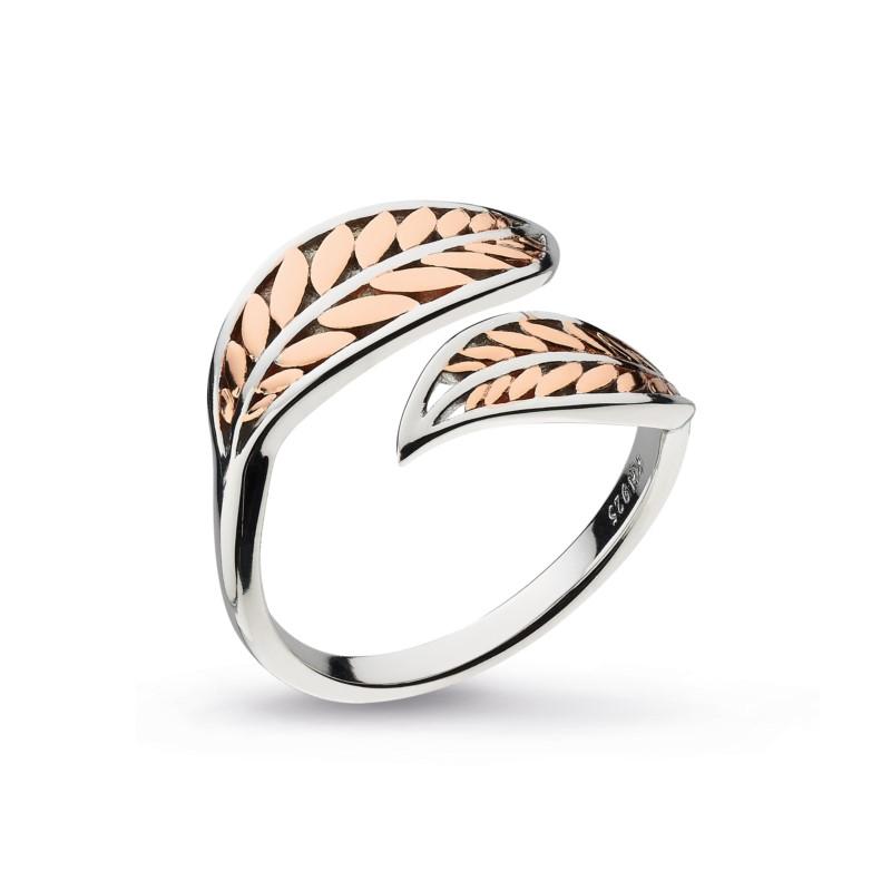 Blossom Blush Leaf Ring