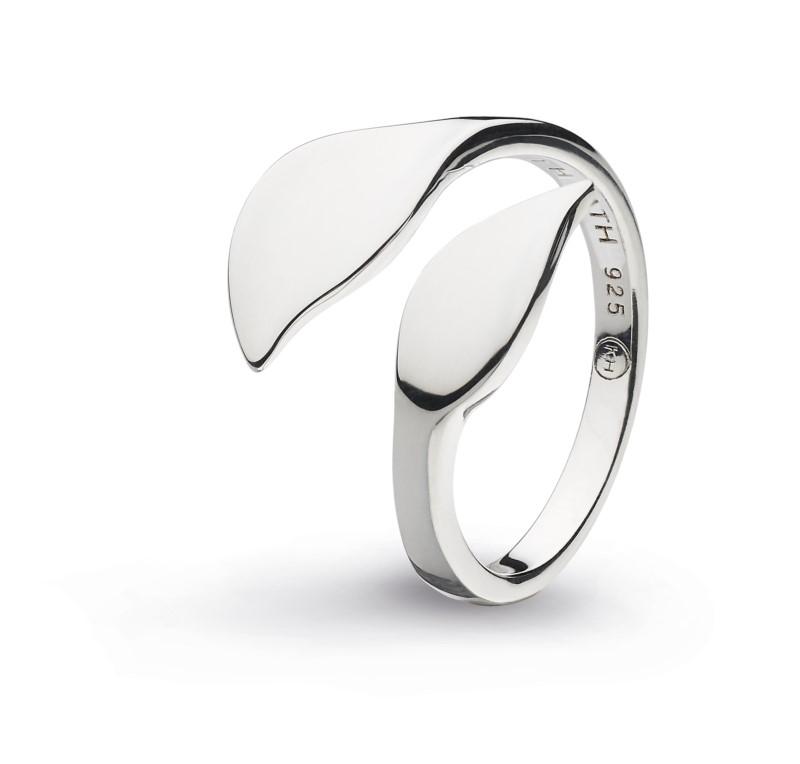 Open Leaf Ring