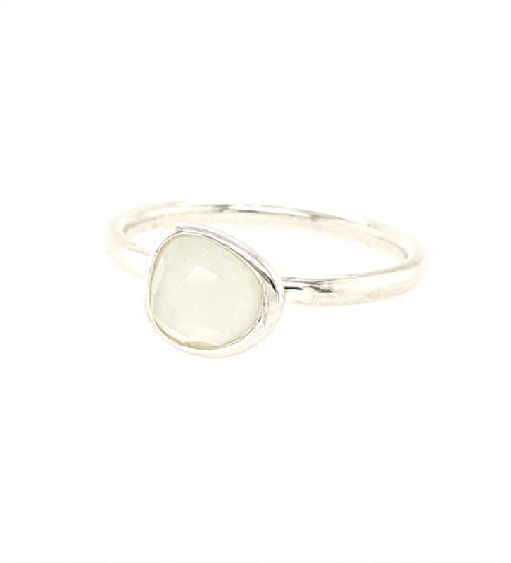 Mini Moonstone Ring