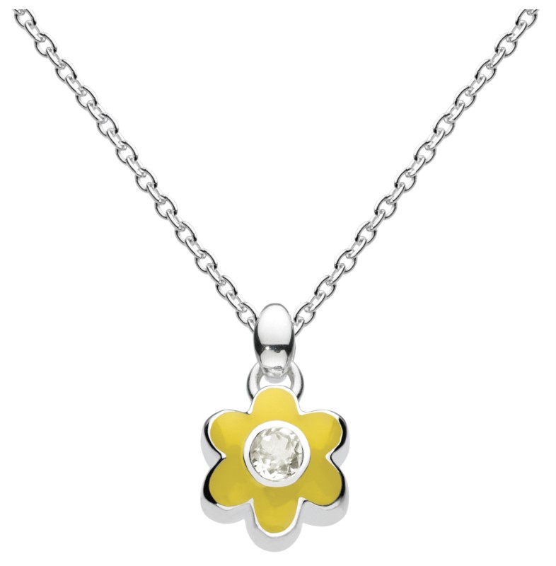 June Flower Necklace