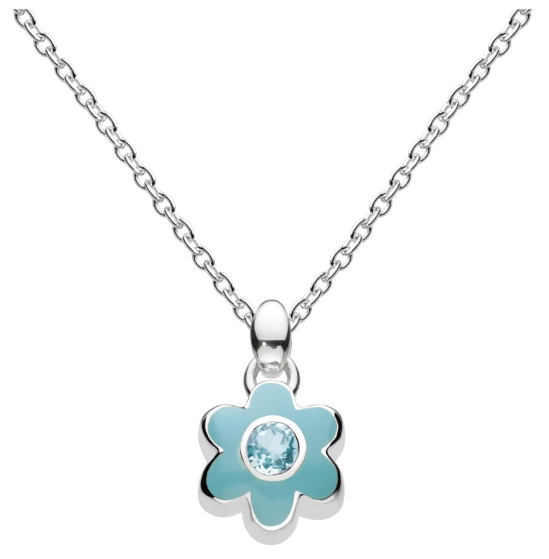 March Flower Necklace