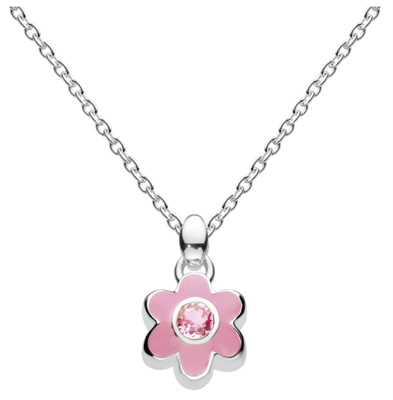 October Flower Necklace