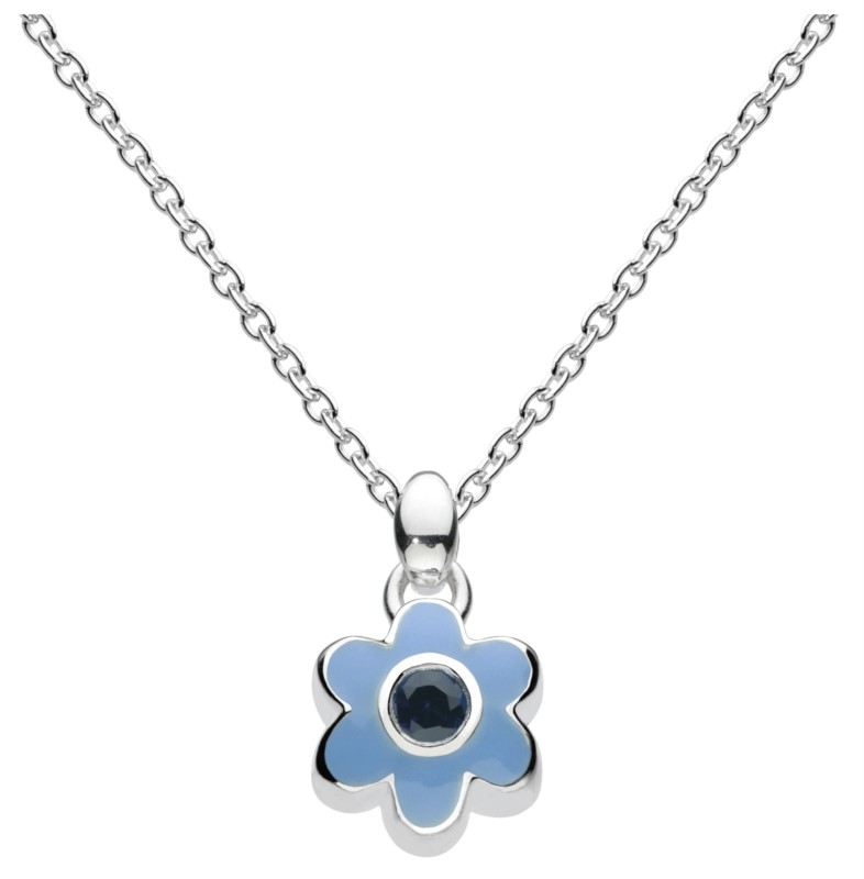 September Flower Necklace