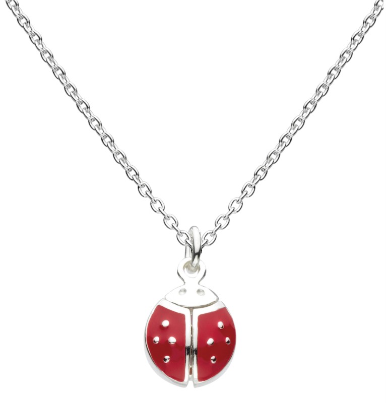 Flying Ladybug Necklace