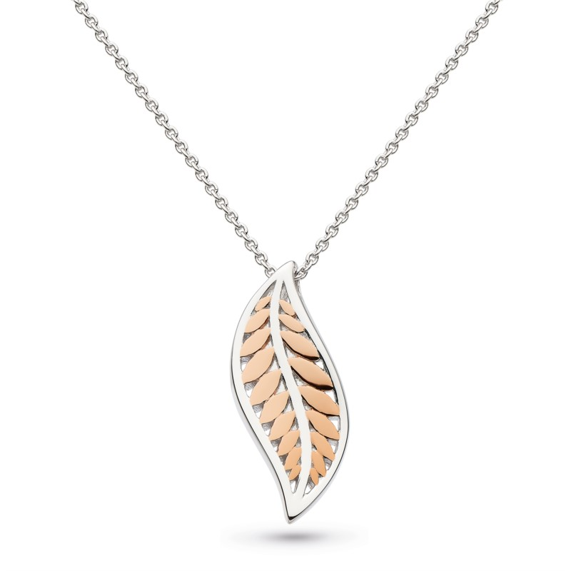 Blush Leaf Necklace