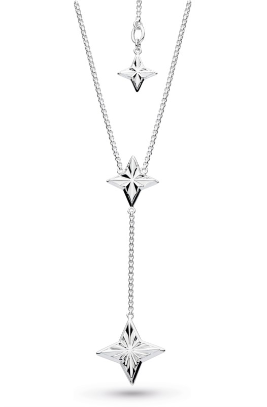 Empire Astoria Star 18~22 Lariat Necklace