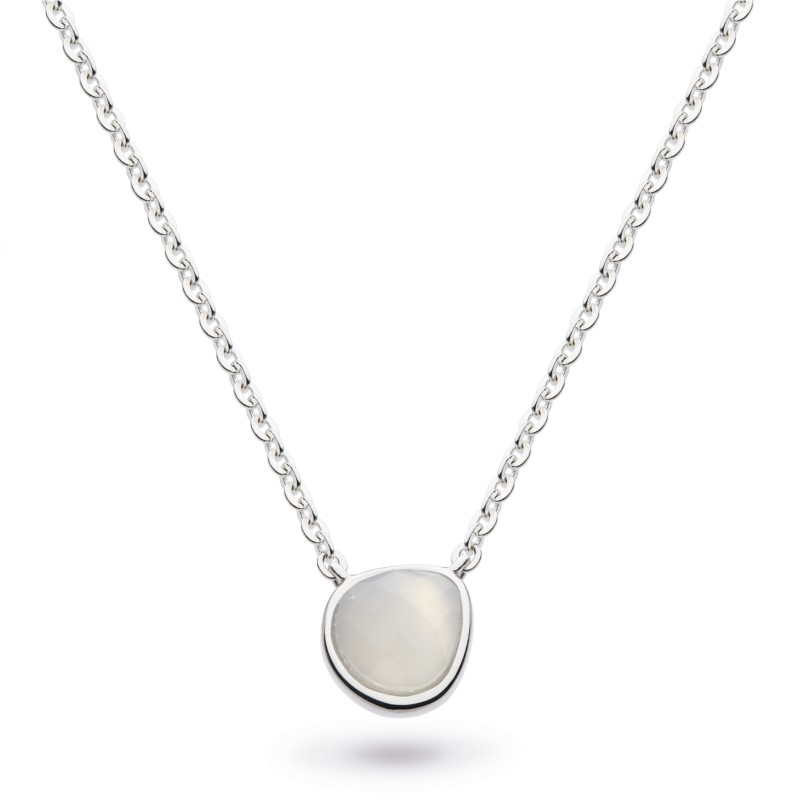 Mini Moonstone Necklace