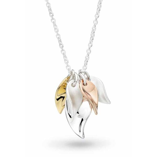 Cluster Leaf Necklace