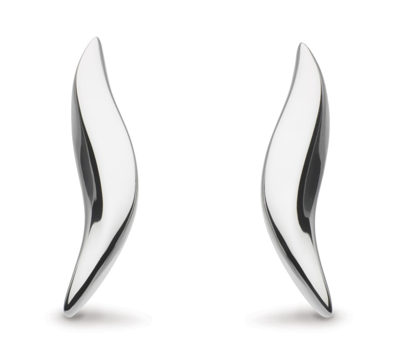 Bevel Drop Earrings