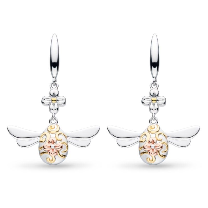 Queen Bee Drop Earrings