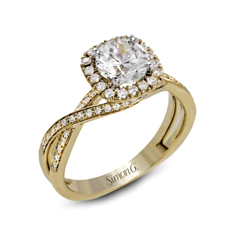 Halo Twisting Ring